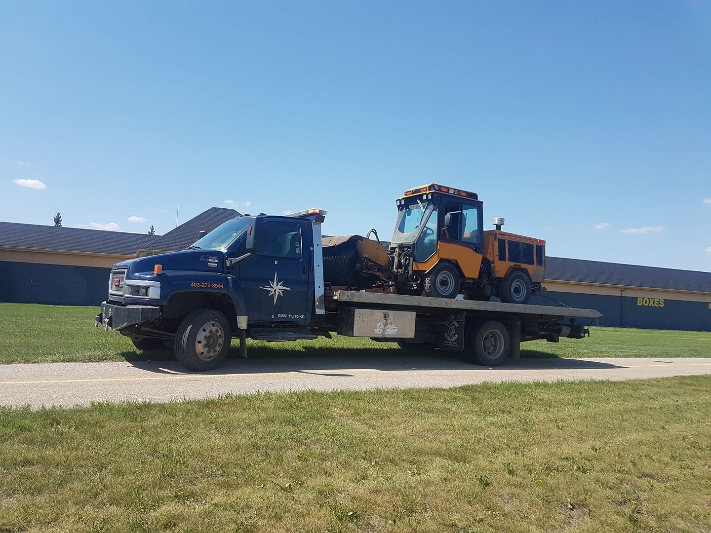 Calgary-transport Towing